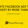 Create Facebook Ads that convert