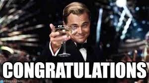 Congratulations GIF (Leornado Di Caprio)